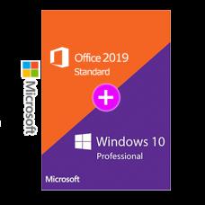 Windows 10 Pro + Office 2019 Standard 日本語版